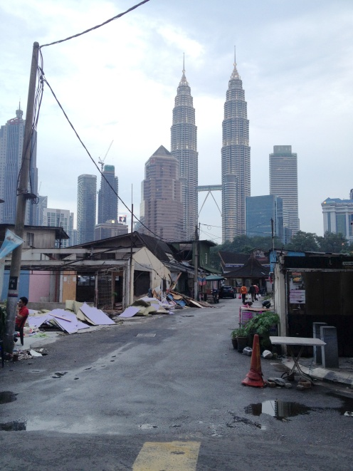 Petronas Towers - punkt widokowy ze slumsow
