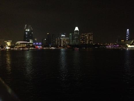 inny rzut na Marina Bay
