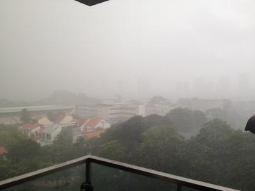 deszcz w Singapurze = piekielna ulewa