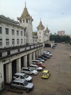 dworzec kolejowy, Yangon