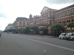 ulice Yangon