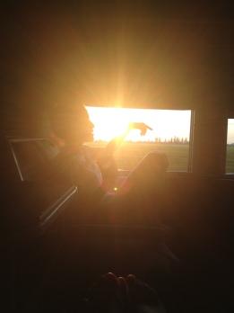 metafizyczne rozmyślania przy zachodzie słońca