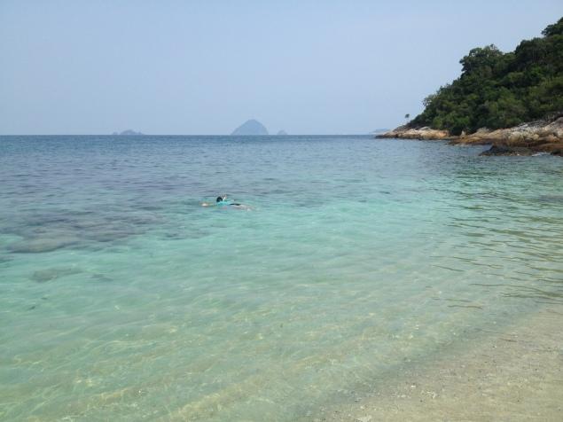 cisza i spokój, idealne warunki do nurkowania i snorkelingu