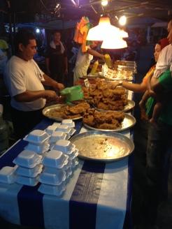 food market w Kuala Terengganu, Pulau Duyung Kecil