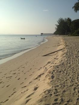 Plaża na Pulau Kapas, bawełnianej wyspie