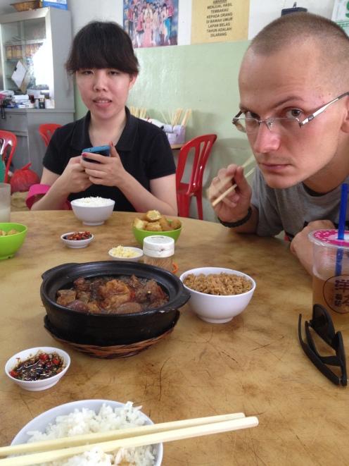 chińskie śniadanie - tłuuuusto