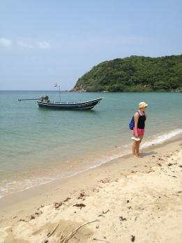 jedna z wielu plaż na koh phangan