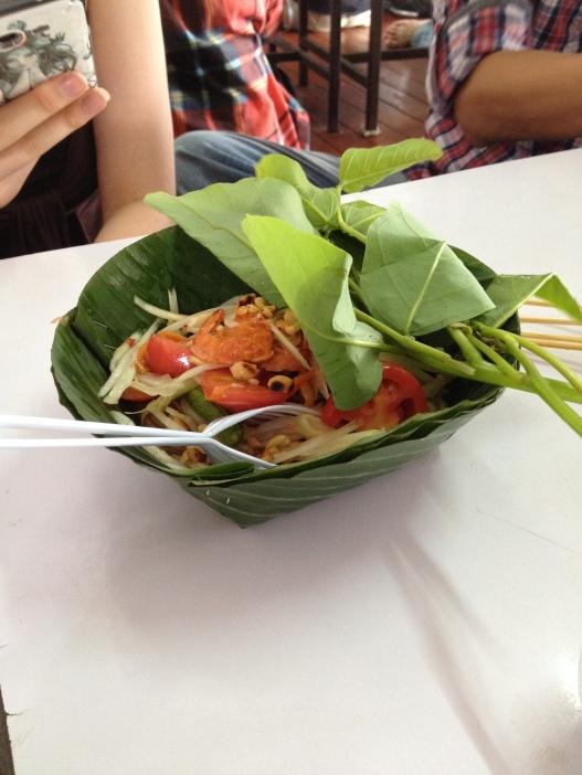 sałatka z zielonej papai, czyli Som Tam - na ostro