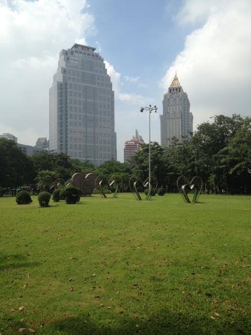 Lumphini Park, czyli Tai Chi i warany