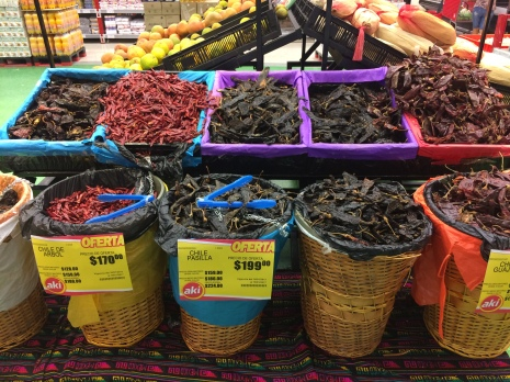 loooots of dried chilli