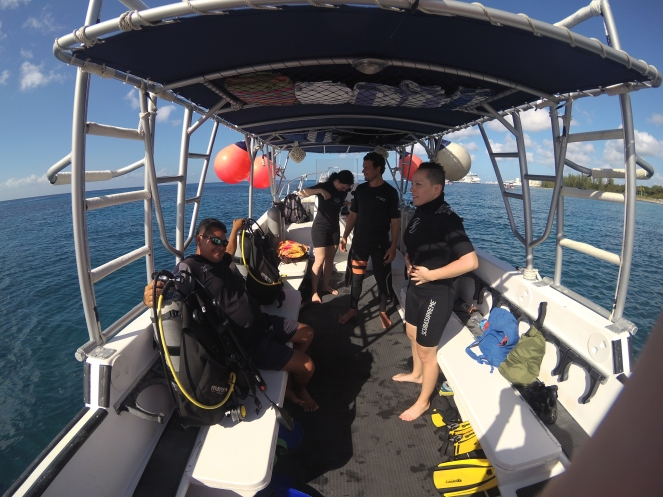 first dive preparations #scubalife