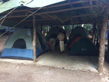 Camp at El Tintal - the first and the best