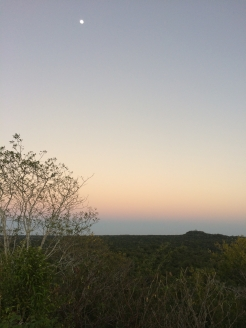Sunset view from El Tigre